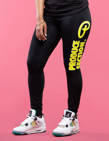 Women's Bold Highlighter Volt Leggings