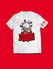 "Kids - Produce Section Clothing x C4 ""Fresh Explosion"" Tee - White (PRE-ORDER)"