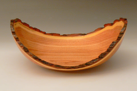 Natural Edge Chinaberry Bowl