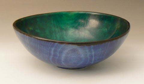 Dyed Beech Bowl