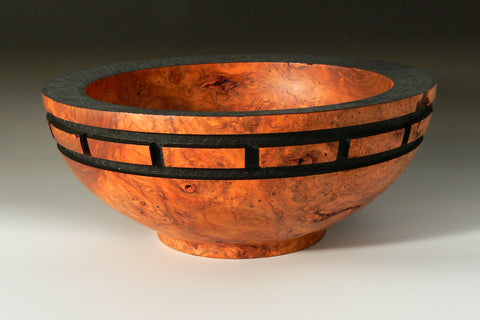 Cherry Burl Bowl