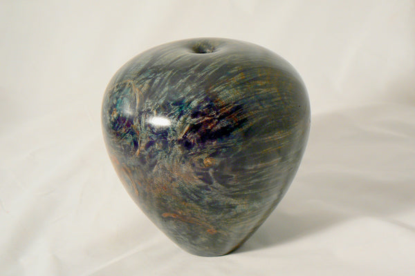 Dyed Big Leaf Maple Burl Hollow Vessel