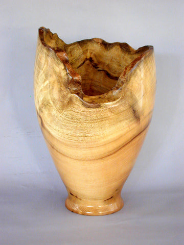 Myrtle Burl Natural Edge Vase