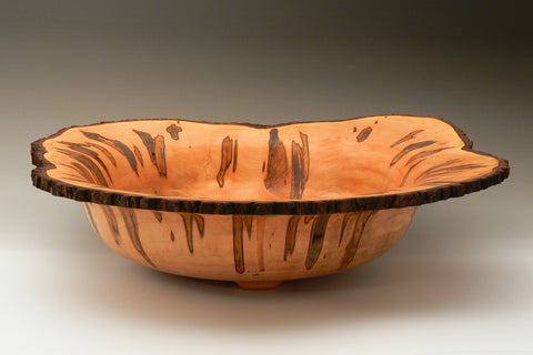 Natural Edge Ambrosia Maple Bowl