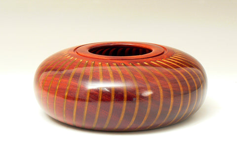 Padauk and Resin Hollowform