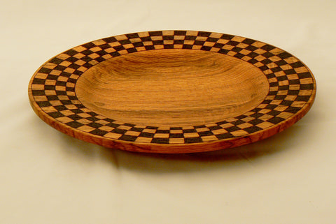 Oak Checkerboard Platter
