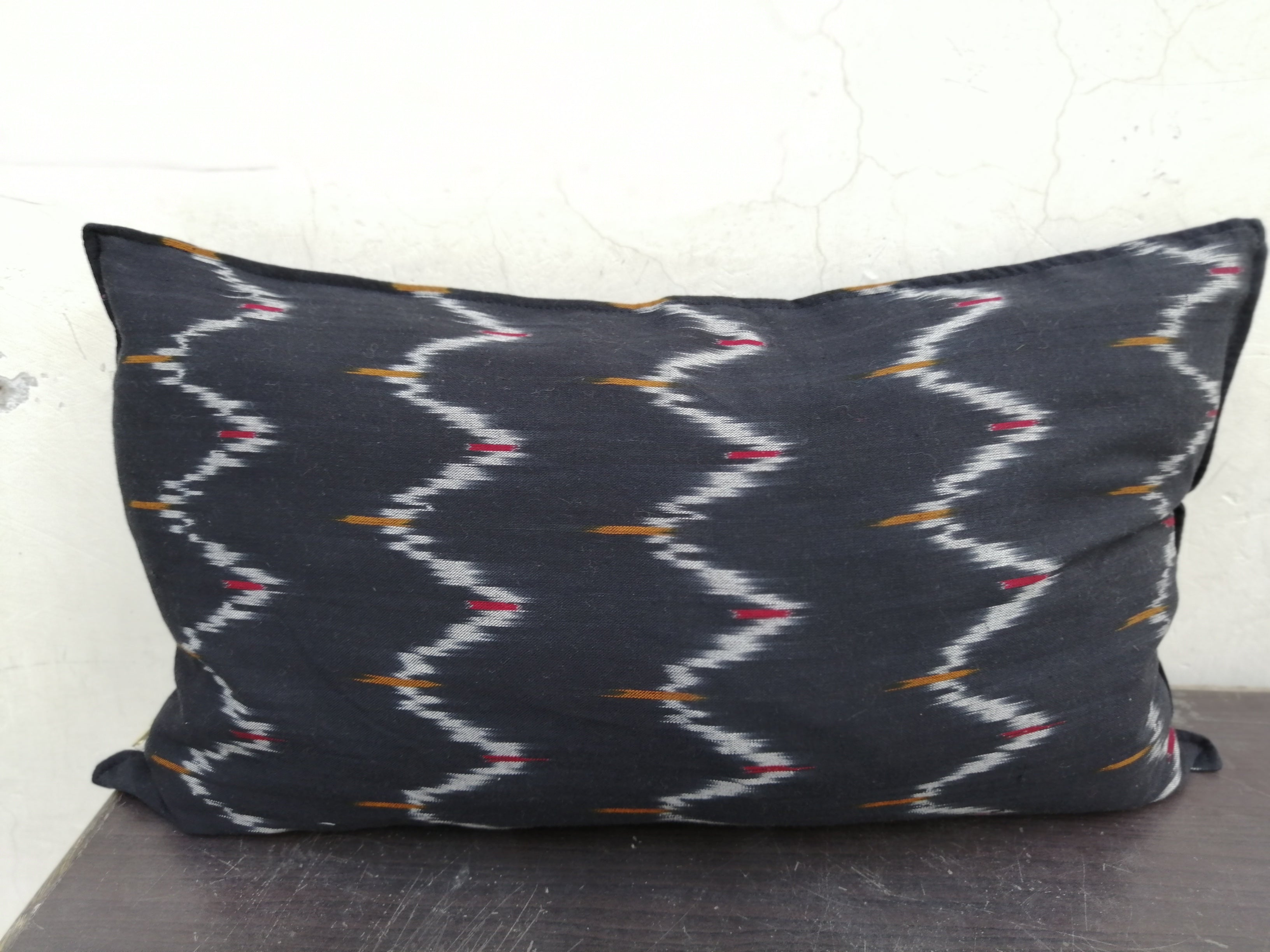 Sundar Ikat Long Cushion Cover