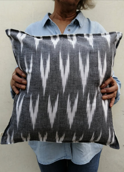 Aasha Ikat Cushion Cover