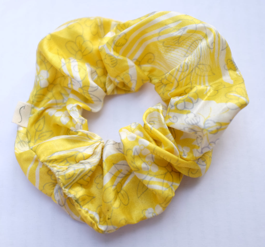 Scrunchie Set- Yellow