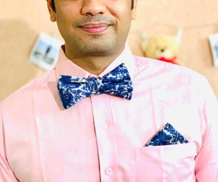 Sari Bow Tie and Pocket Square