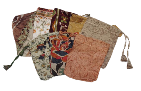 Neutral Sari Pouches
