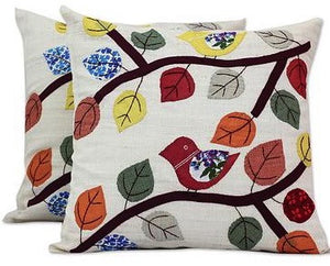 Cheerful Songbird Pillow Case