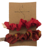 Scrunchie Set- Reds