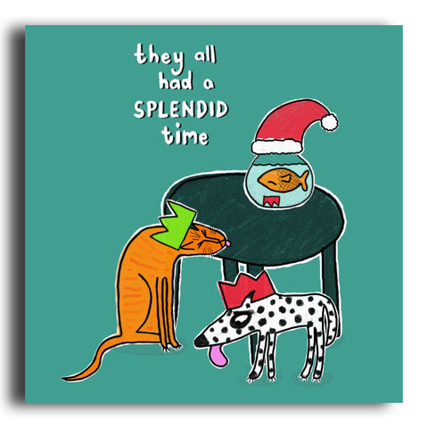 Splendid Time Christmas card (CRC06)