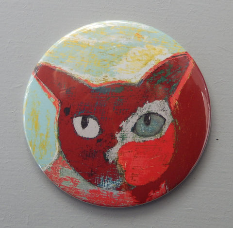 Sweet Cat fridge magnet