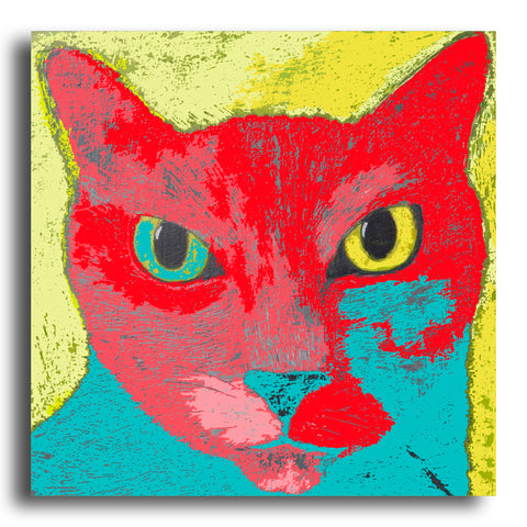 Bossy Cat greeting card