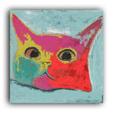 Questioning Cat art print