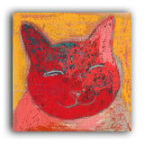 Smiley Cat art print