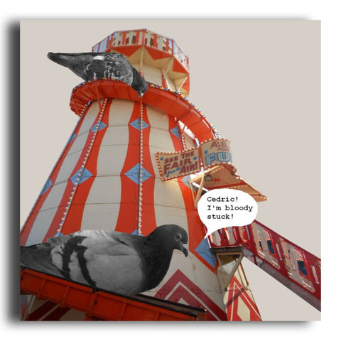 Goose Fair greeting card (CR62)