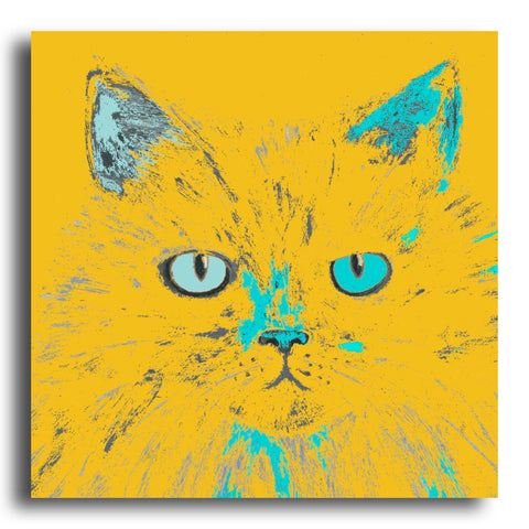 Miffed Cat greeting card