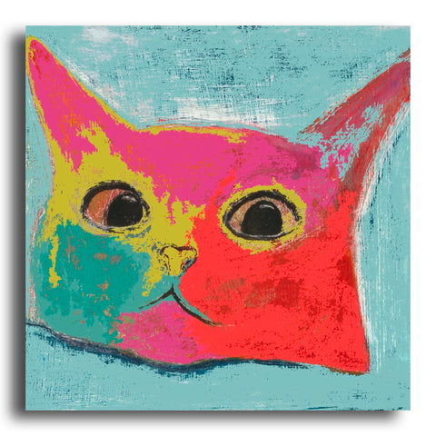Questioning Cat greeting card