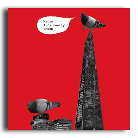 The Shard greeting card (CR69)