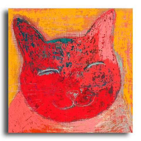 Smiley Cat greeting card