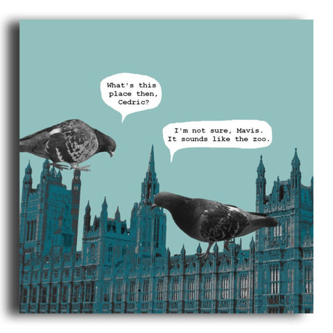 Westminster greeting card (CR60)