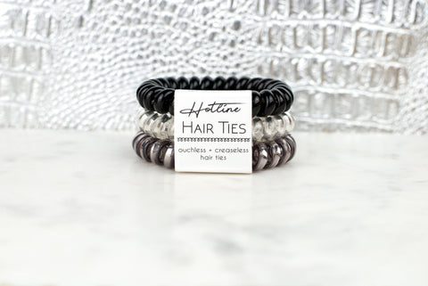 Hotline Hair Ties - Black Diamond - Oh, Darlin'