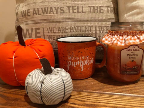 Hello Pumpkin' Camp Mug - Oh, Darlin'