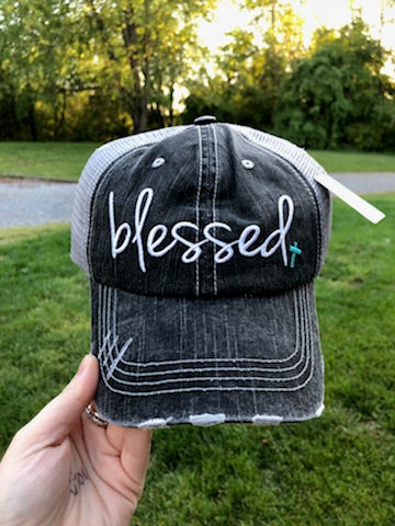 Blessed Trucker Style Hat - Oh, Darlin'
