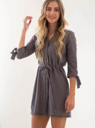 Eliza Button Up Dress - Oh, Darlin'