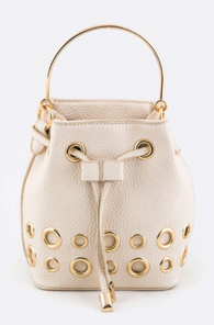 Kat Studded Drawstring Crossbody Bag - Oh, Darlin'