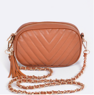 Asher Quilted Crossbody Bag - Oh, Darlin'