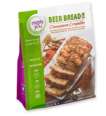Cinnamon Crumble Beer Bread Mix - Oh, Darlin'