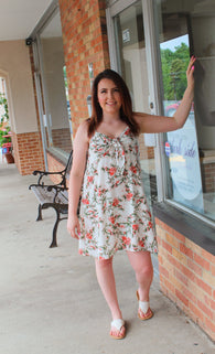 Ava Floral Tank Dress - Oh, Darlin'