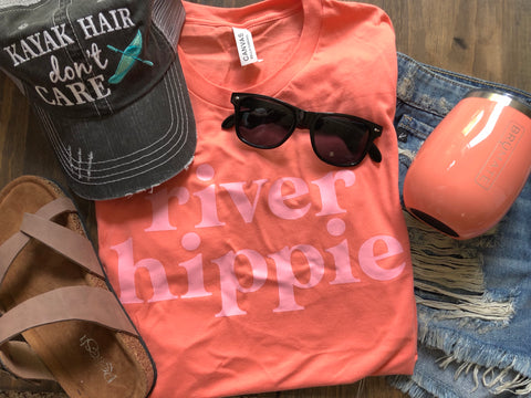 River Hippie Tee - Oh, Darlin'