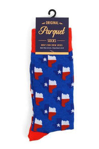 Novelty Mens Socks - Texas