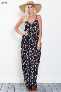 Ashlynn Floral Maxi Dress - Oh, Darlin'