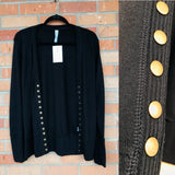 Evelyn Snap Up Long Sleeve Cardigan - Oh, Darlin'