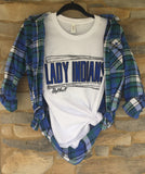 Lady Indians Softball Tee - Oh, Darlin'