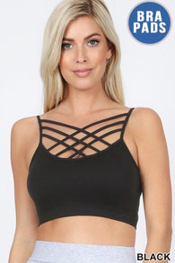 Shea Strappy Scoop Neck Bralette