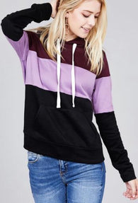 Rose Marie Colorblock Pullover Sweatshirt - Oh, Darlin'