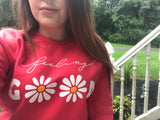 Feeling Good Daisy Sweatshirt