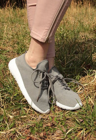 Trainers - Grey - Oh, Darlin'
