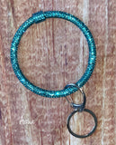 Skinny Sparkle Bangle Bracelet Key Chain - Oh, Darlin'