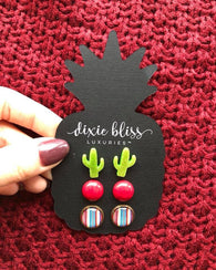 Serape Sally Earring 3 Pack