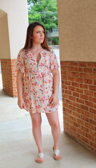 Jolene Floral Dress - Oh, Darlin'