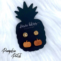 Pumpkin Patch Earring 2 Pack - Oh, Darlin'