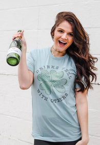Drinks Well With Others Tee - Oh, Darlin'